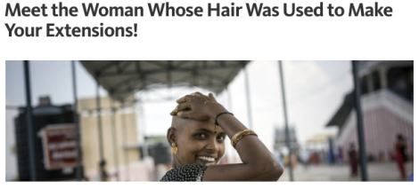 globalization extensions india fake hair market sales