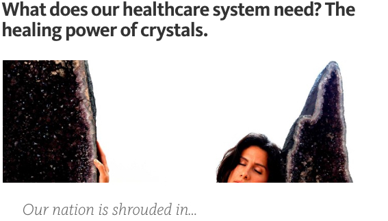 healing power of crystals healthcare obamacare