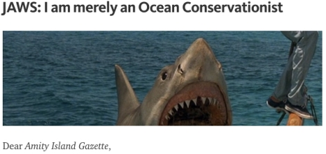 JAWS Ocean Conservation Sharks Shark Week