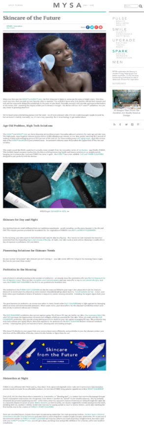 Article Page Sample